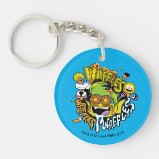 Teen Titans Go!   Beast Boy Waffles Keychain