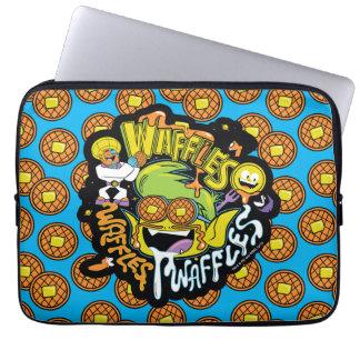 Teen Titans Go! | Beast Boy Waffles Laptop Sleeve
