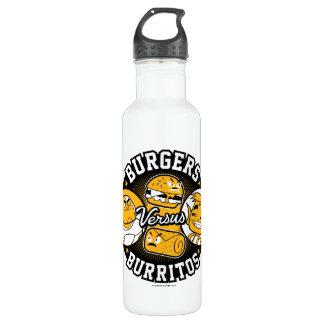 Teen Titans Go! | Burgers Versus Burritos 710 Ml Water Bottle