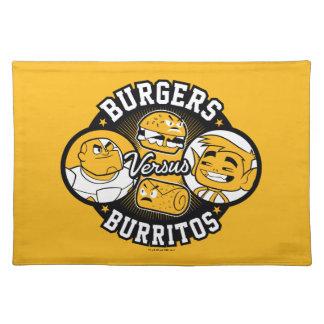 Teen Titans Go!   Burgers Versus Burritos Placemat
