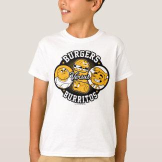 Teen Titans Go! | Burgers Versus Burritos T-Shirt