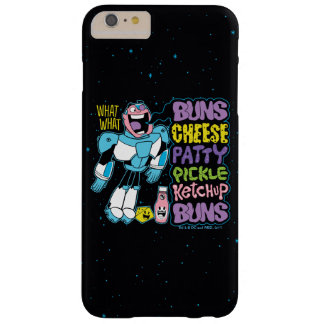 Teen Titans Go! | Cyborg Burger Rap Barely There iPhone 6 Plus Case