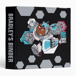 Teen Titans Go! | Cyborg's Arsenal Graphic 3 Ring Binders