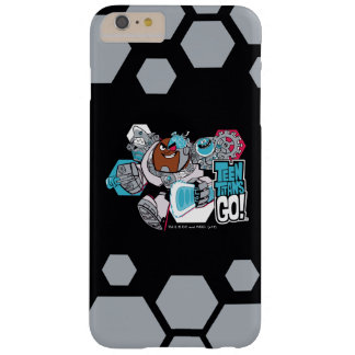 Teen Titans Go! | Cyborg's Arsenal Graphic Barely There iPhone 6 Plus Case