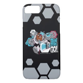 Teen Titans Go! | Cyborg's Arsenal Graphic Case-Mate iPhone Case