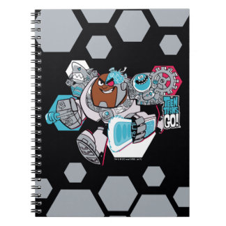 Teen Titans Go! | Cyborg's Arsenal Graphic Notebooks