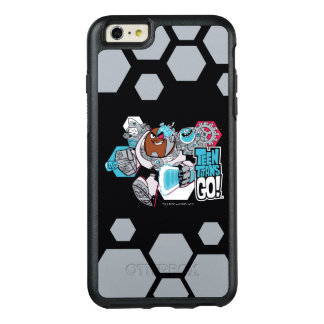Teen Titans Go! | Cyborg's Arsenal Graphic OtterBox iPhone 6/6s Plus Case