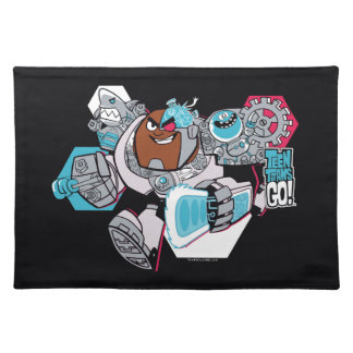 Teen Titans Go! | Cyborg's Arsenal Graphic Placemat