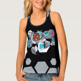 Teen Titans Go! | Cyborg's Arsenal Graphic Tank Top