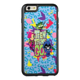"Teen Titans Go! | ""Girls Girls"" Animal Print Logo OtterBox iPhone 6/6s Plus Case"