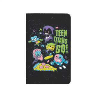 Teen Titans Go! | Gnarly 90's Pizza Graphic Journal