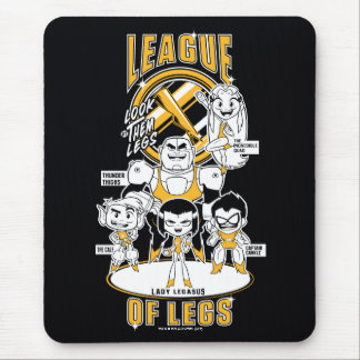 Teen Titans Go! | League of Legs Mouse Pad