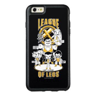 Teen Titans Go! | League of Legs OtterBox iPhone 6/6s Plus Case