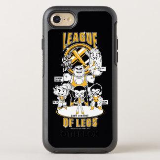 Teen Titans Go! | League of Legs OtterBox Symmetry iPhone 8/7 Case