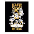 Teen Titans Go! | League of Legs Postcard