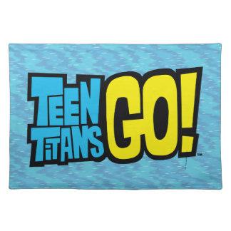 Teen Titans Go!   Logo Placemat