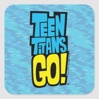 Teen Titans Go! | Logo Square Sticker