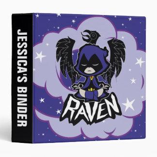 Teen Titans Go!   Raven Attack 3 Ring Binders
