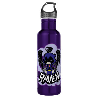 Teen Titans Go! | Raven Attack 710 Ml Water Bottle