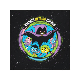 "Teen Titans Go! | Raven ""Azarath Metrion Zinthos"" Canvas Print"