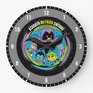 "Teen Titans Go! | Raven ""Azarath Metrion Zinthos"" Large Clock"