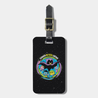 "Teen Titans Go! | Raven ""Azarath Metrion Zinthos"" Luggage Tag"