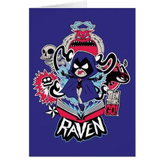 Teen Titans Go!   Raven Demonic Powers Graphic Card