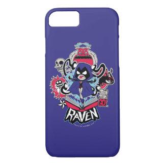 Teen Titans Go! | Raven Demonic Powers Graphic iPhone 8/7 Case