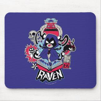 Teen Titans Go! | Raven Demonic Powers Graphic Mouse Pad