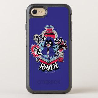 Teen Titans Go! | Raven Demonic Powers Graphic OtterBox Symmetry iPhone 8/7 Case