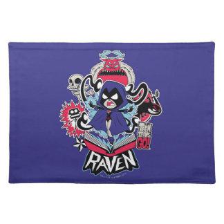 Teen Titans Go! | Raven Demonic Powers Graphic Placemat