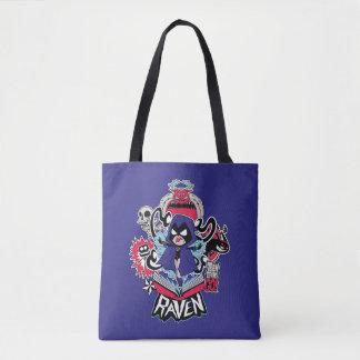 Teen Titans Go! | Raven Demonic Powers Graphic Tote Bag