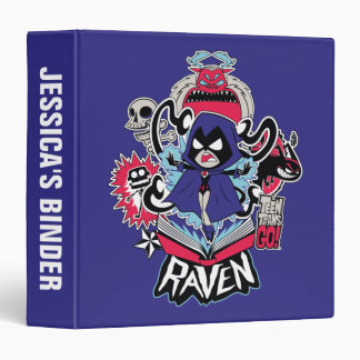 Teen Titans Go! | Raven Demonic Powers Graphic Vinyl Binder