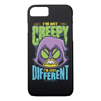 "Teen Titans Go! | Raven ""Not Creepy I'm Different"" Case-Mate iPhone Case"