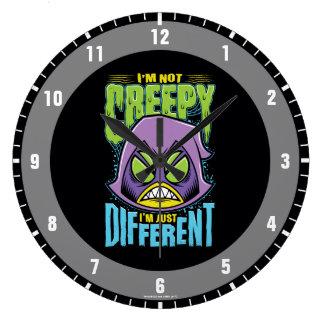 "Teen Titans Go! | Raven ""Not Creepy I'm Different"" Large Clock"