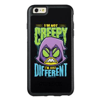 "Teen Titans Go! | Raven ""Not Creepy I'm Different"" OtterBox iPhone 6/6s Plus Case"