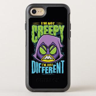 "Teen Titans Go! | Raven ""Not Creepy I'm Different"" OtterBox Symmetry iPhone 8/7 Case"