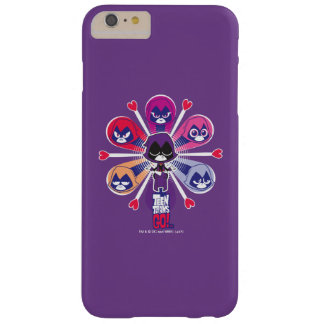 Teen Titans Go! | Raven's Emoticlones Barely There iPhone 6 Plus Case