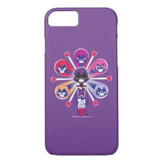 Teen Titans Go!   Raven's Emoticlones Case-Mate iPhone Case
