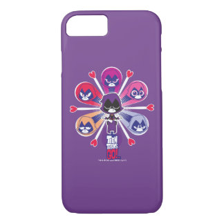 Teen Titans Go! | Raven's Emoticlones iPhone 8/7 Case