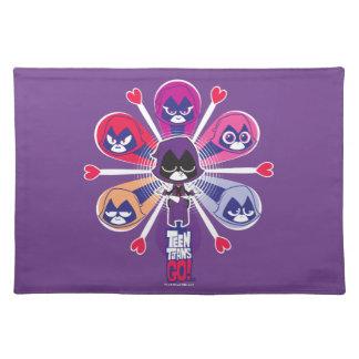 Teen Titans Go! | Raven's Emoticlones Placemat