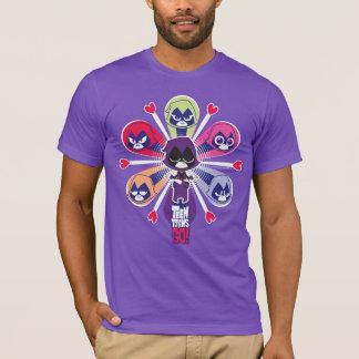 Teen Titans Go! | Raven's Emoticlones T-Shirt