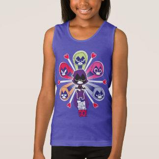 Teen Titans Go! | Raven's Emoticlones Tank Top