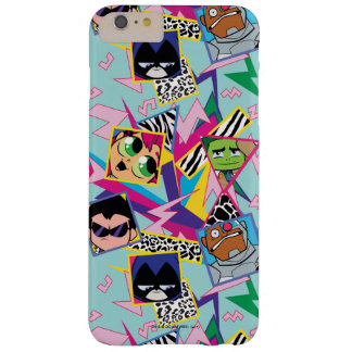 Teen Titans Go! | Retro 90's Group Collage Barely There iPhone 6 Plus Case