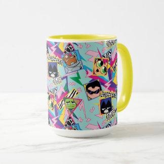 Teen Titans Go! | Retro 90's Group Collage Mug