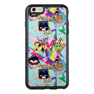 Teen Titans Go! | Retro 90's Group Collage OtterBox iPhone 6/6s Plus Case