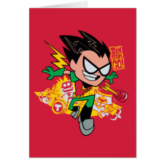 Teen Titans Go! | Robin's Arsenal Graphic Card