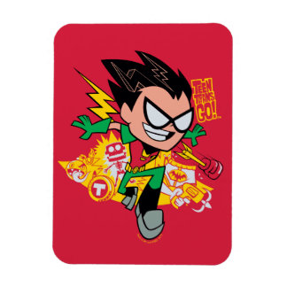 Teen Titans Go! | Robin's Arsenal Graphic Magnet