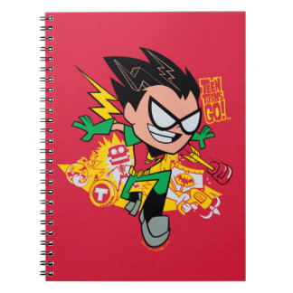 Teen Titans Go! | Robin's Arsenal Graphic Notebooks