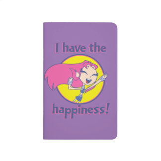 "Teen Titans Go! | Starfire ""I Have The Happiness"" Journal"